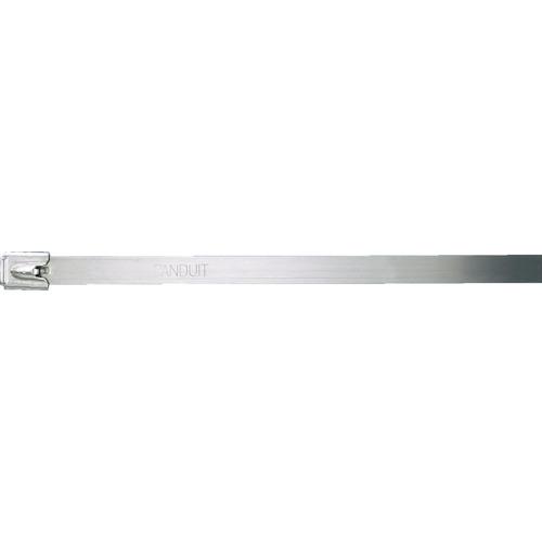 ■パンドウイット MLTタイプ 自動ロック式ステンレススチールバンド SUS304 幅12.7mm 長さ594mm 50本入り MLT6EH-LP [TR-7314299]