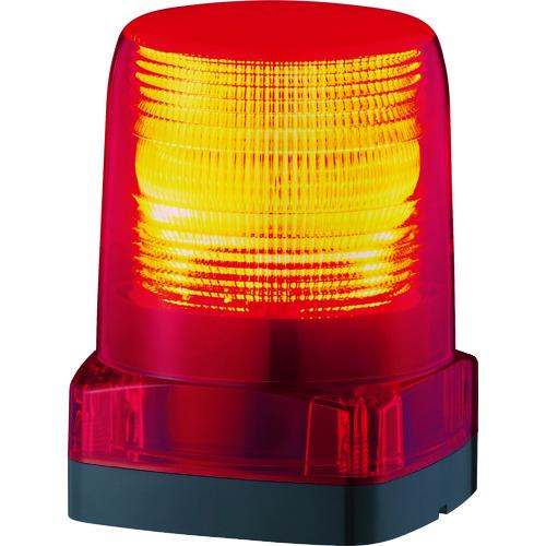 ■パトライト LEDフラッシュ表字灯  〔品番:LFH-12-R〕[TR-7514492]
