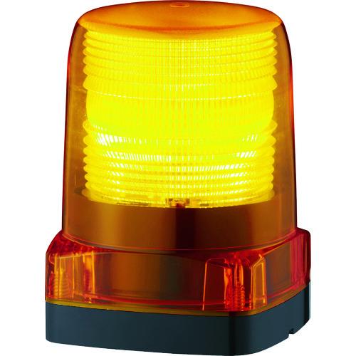 ■パトライト LEDフラッシュ表示灯  〔品番:LFH-12-Y〕[TR-7514506]