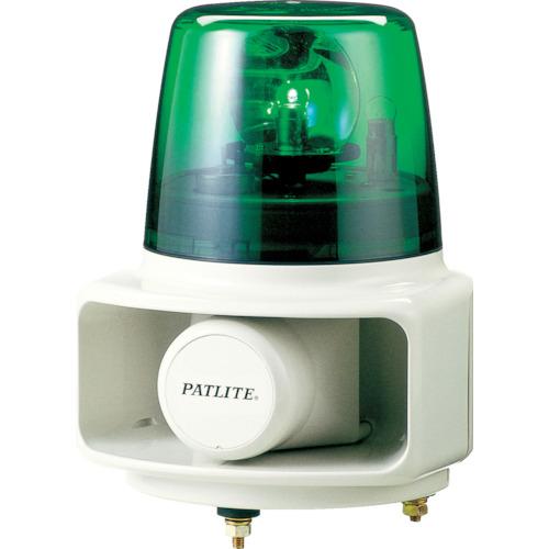 ■パトライト ラッパッパホーンスピーカー一体型 色:緑 RT-100A-G (株)パトライト[TR-7514883]