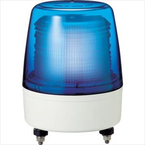 ■パトライト 中型LEDフラッシュ表示灯 色:青  〔品番:XPE-12-B〕[TR-7514999]
