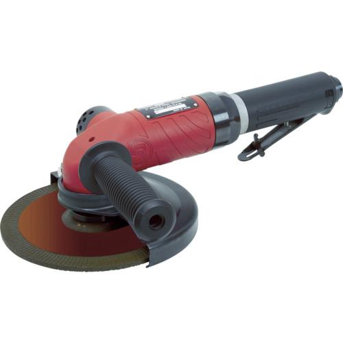 ■SI エアアングルグラインダー 適用砥石寸法外径×厚さ×内径(mm)180×6×22 SI-AG7-A4L 信濃機販(株)[TR-7550421]