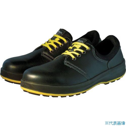 ■シモン 安全靴 短靴 WS11黒静電靴 24.0cm WS11BKS-24.0 (株)シモン[TR-7570635]