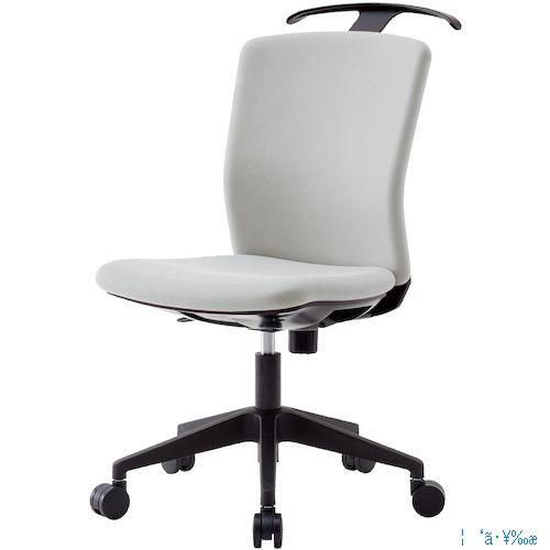 ■アイリスチトセ ハンガー付回転椅子(フリーロッキング) グレー HG-X-CKR-46M0-F-GY [TR-7594241] [個人宅配送不可]
