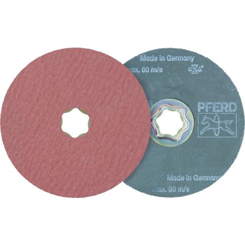 ■PFERD ディスクペーパー コンビクリック酸化アルミナ COOLタイプ(25枚) 836187 PFERD社[TR-7653263×25]