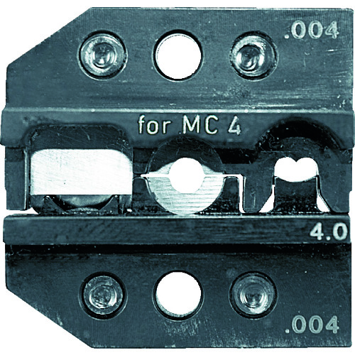 ■RENNSTEIG 圧着ダイス 624-004 MC4 4mm〔品番:624-004-3-0〕[TR-7665113]