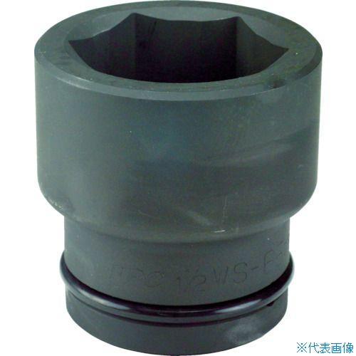 ■FPC インパクト ショート ソケット 差込角38.1mm 対辺115mm (4 1.1/2WS-115 フラッシュツール[TR-7695489]