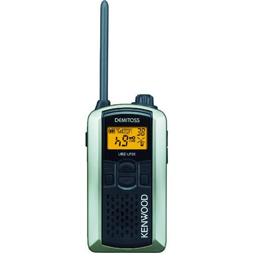 ■ケンウッド 特定小電力トランシーバー(交互通話) UBZ-LP20SL (株)JVCケンウッド[TR-7712901]