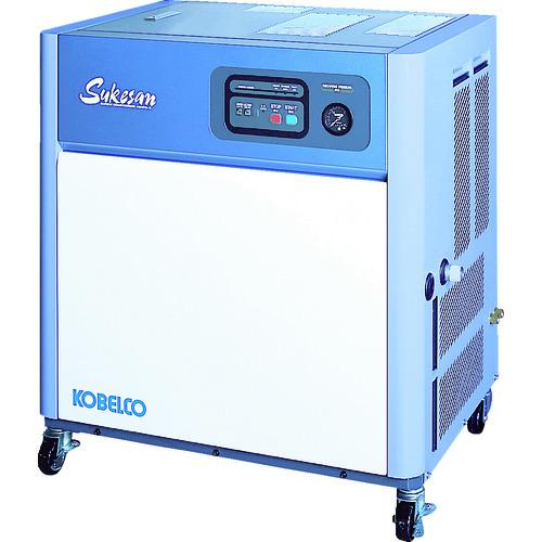 ■コベルコ 油冷式スクリューコンプレッサー 1.5kW AS2PD3-5 [TR-7728336] [個人宅配送不可]