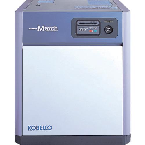■コベルコ 油冷式スクリューコンプレッサー 5.5kW CM6BD3-6 [TR-7728409] [個人宅配送不可]
