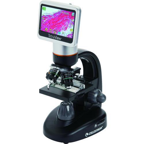 ■CELESTRON 液晶モニタ搭載LCDデジタル顕微鏡TETRAVIEW CE44347 セレストロン社[TR-7737971]