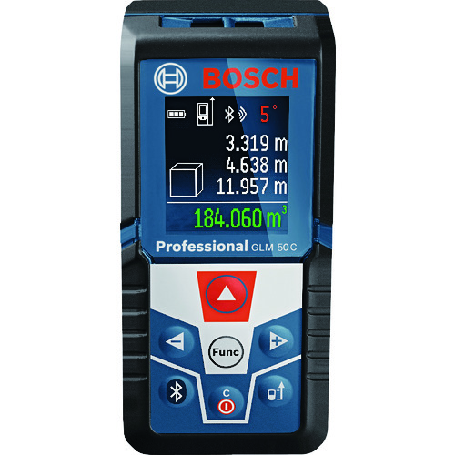 ■ボッシュ データ転送レーザー距離計 GLM50C ボッシュ(株)[TR-7783752]