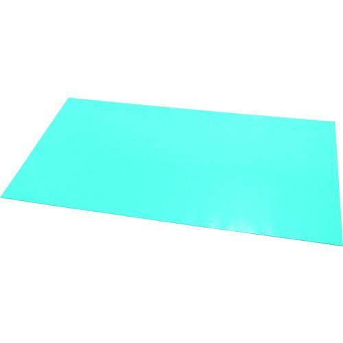 ■エクシール ステップマット薄型3mm厚 900×600 ブルーグリーン MAT3-0906 エクシール[TR-7798741] [個人宅配送不可]