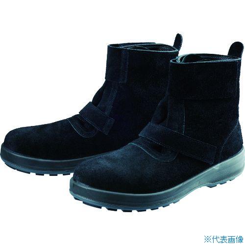■シモン 安全靴 WS28黒床 23.5cm WS28BKT-23.5 シモン[TR-7847629]