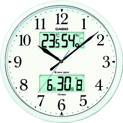 ■カシオ 電波掛け時計 ITM-660NJ-8JF カシオ計算機(株)[TR-7886462]