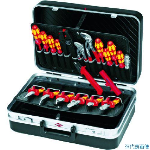 ■KNIPEX 002120 ツールケース 20点セット  〔品番:002120〕[TR-7901615]