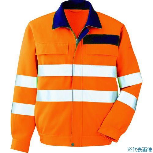 ■ミドリ安全 高視認 ブルゾン オレンジ S VE ミドリ安全(株)[TR-7949693]