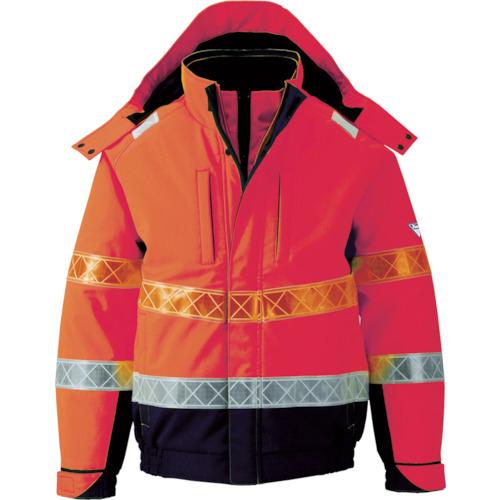■ジーベック 802 高視認防水防寒ブルゾン LL オレンジ 802-82-LL (株)ジーベック[TR-7996462]