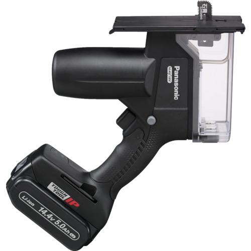 当店の記念日 ?Panasonic [TR-7996616]:セミプロDIY店ファースト EZ45A3LJ2F-B 角穴カッター(14.4V 5.0Ah)-DIY・工具