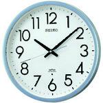 ■SEIKO 電波掛時計 直径390×52 P枠 銀色半光沢 KS265S [TR-8132946]