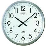 ■SEIKO 電波掛時計 直径421×48 金属枠 KS266S [TR-8132947]