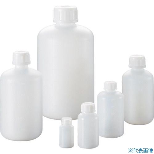 ■サンプラ PE細口瓶 500mL (100本入) 2064 [TR-8162588] [個人宅配送不可]