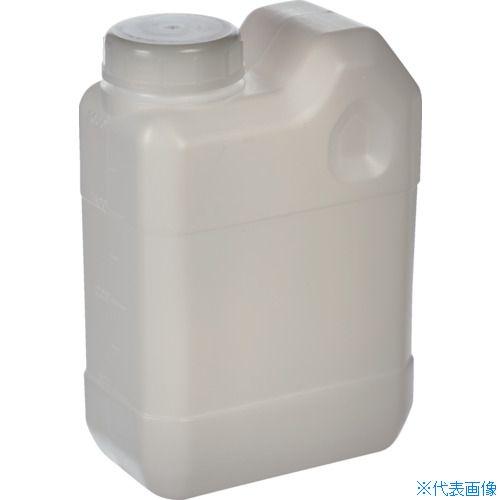 ■サンプラ 角瓶C型(広口タイプ) 2L (50個入) 2134 [TR-8162617] [個人宅配送不可]