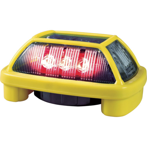■NIKKEI ニコハザードFAB VK16H型 LED警告灯 赤 VK16H-004F3R (株)日惠製作所[TR-8183274]
