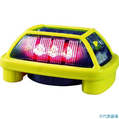 ■NIKKEI ニコハザード VK16H型 LED警告灯 赤 VK16H-004H3R (株)日惠製作所[TR-8183276]