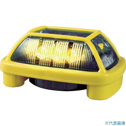 ■NIKKEI ニコハザード VK16H型 LED警告灯 黄 VK16H-004H3Y (株)日惠製作所[TR-8183277]