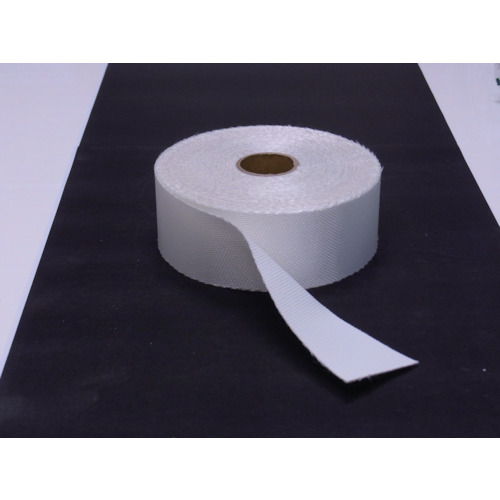 ■TRUSCO ノンセラクロステープ 0.8X100mm 20m 片面樹脂加工 TACT-08100 トラスコ中山[TR-8183802]