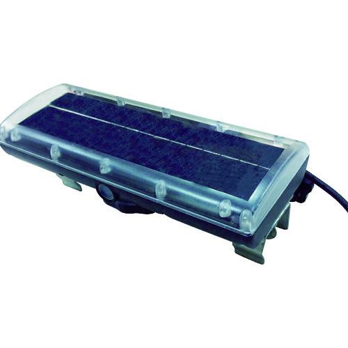 ■仙台銘板 ネオパワーVミニ軽量型矢印板用ソーラー電源 H110×W280mm 3093109 (株)仙台銘板[TR-8184848]