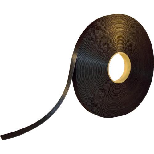 ■TRUSCO 耐候性マジックバンド[[R下]]結束テープ幅20mmX長さ30m黒 TMKT-20W-BK トラスコ中山[TR-8191534]