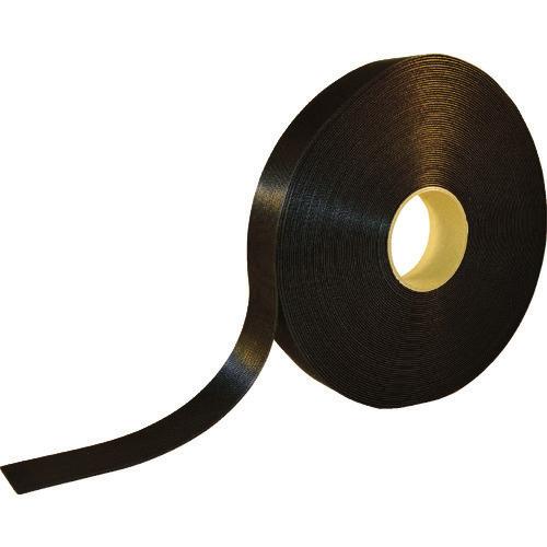 ■TRUSCO 耐候性マジックバンド[[R下]]結束テープ幅40mm長さ30m黒 TMKT-40W-BK トラスコ中山[TR-8191537]