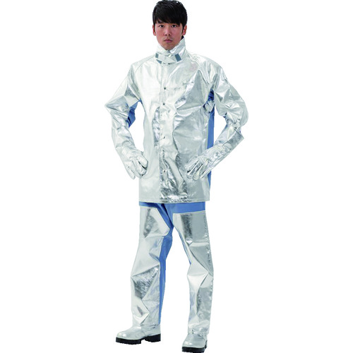 ■日本エンコン アルミコンビ耐熱服 上衣 5020-2L 日本エンコン(株)[TR-8192929]