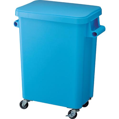 ■リス 厨房用キャスターペール45L 排水栓付 ブルー GGYK002 リス(株)[TR-8194056] [個人宅配送不可]