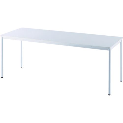 ■アールエフヤマカワ RFシンプルテーブル W1800×D700 ホワイト RFSPT-1870WH [TR-8195205] [個人宅配送不可]