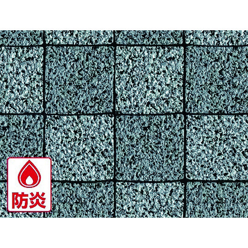 ■明和 屋外用床材 IRF-1042 91.5cm幅×10m巻 GY 明和グラビア(株)[TR-8196018] [個人宅配送不可]