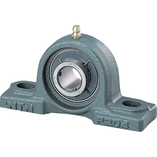 ■NTN Gベアリングユニット(円筒穴形止めねじ式)軸径110mm中心高150mm UCP322D1 [TR-8197093] [個人宅配送不可]