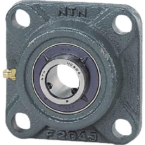 ■NTN G ベアリングユニット(円筒穴形、止めねじ式)軸径55mm全長185mm全高185mm UCF311D1 [TR-8197161]