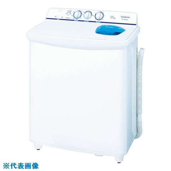 ■日立 2槽式洗濯機  〔品番:PS-H45LCP〕[TR-8199612]【大型・重量物・個人宅配送不可】
