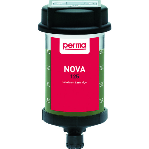 ■perma パーマノバ 温度センサー付き自動給油器 標準グリス125CC付き PN-SF01-125 パーマテック社[TR-8202788]
