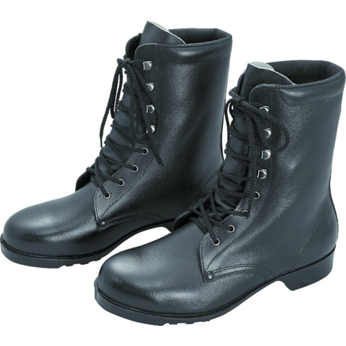 ■ミドリ安全 ゴム底安全靴 長編上 V213N 28.5CM V213N-28.5 ミドリ安全(株)[TR-8217954]