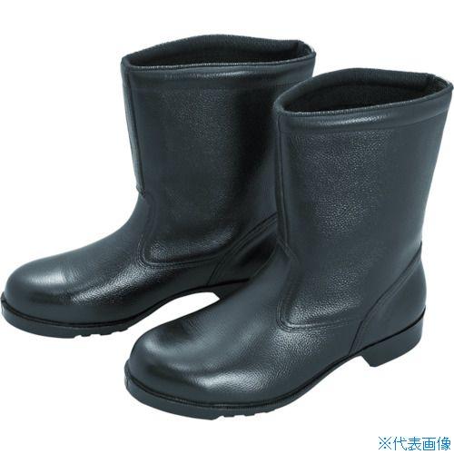 ■ミドリ安全 ゴム底安全靴 半長靴 V2400N 25.5CM V2400N-25.5 ミドリ安全(株)[TR-8217960]