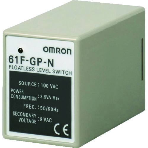 ■OMRON フロートなしスイッチ コンパクトタイプ11ピン  〔品番:61F-GP-N〕[TR-8291134]