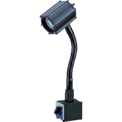 ■日機 マグネット付LEDスポットライト 5W AC100V  〔品番:NLSS05CBM-AC(4000K)〕[TR-8338477]【大型・重量物・個人宅配送不可】