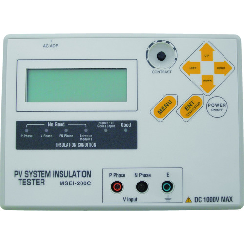 ■マルチ 太陽光発電設備 直流回路絶縁診断装置 MSEI-200C マルチ計測器(株)[TR-8338706] [送料別途お見積り]