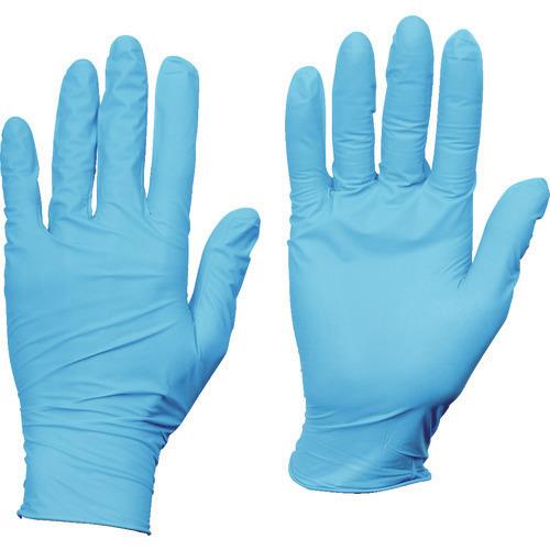 トラスコ中山 使い捨て手袋 メイルオーダー 希望者のみラッピング無料 ■TRUSCO TR-8354706 10箱入り使い捨てニトリル手袋TGスタンダード0.08粉無青L 品番:TGNN08BL10C