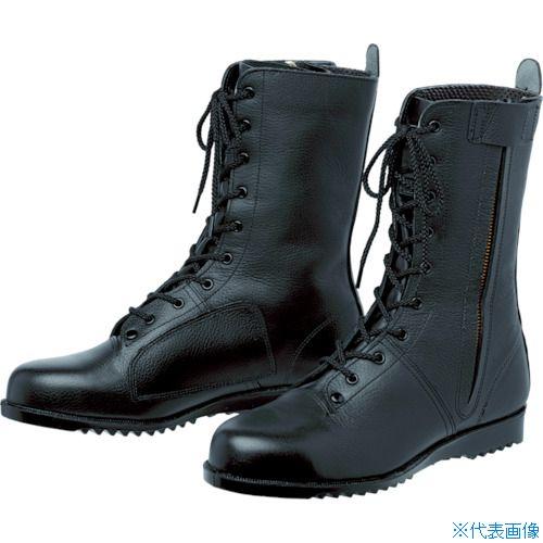 ■ミドリ安全 高所作業用作業靴 VS5311NオールハトメF 23.5cm VS5311NF-23.5 ミドリ安全(株)[TR-8355043]