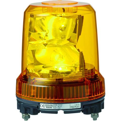 【T-ポイント5倍】   ?パトライト 強耐振型LED回転灯 〔品番:RLR-M2-P-Y〕[TR-8358315]:セミプロDIY店ファースト-DIY・工具